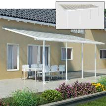 Couvert pour terrasse 8,50×3,0×2,6-3,05 m