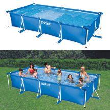 INTEX Swimming-Pool mit Metallrahmen 450x220x84 cm