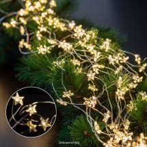LED Lichterkette «Angel Stars Hair», mit 20 LED, batteriebetrieben