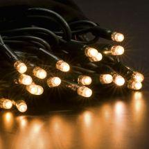 LED Einzelstrang mit 200 warm-weissen LED, 20 m