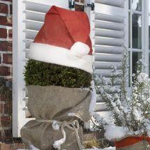 Couronnes de protection «Vintage» Bonnet de Noël