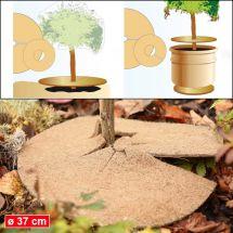 Kokos-Isolierscheiben Ø 37 cm