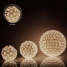 LED Lichtkugeln «Star» warm-weisse LED Ø 12 cm