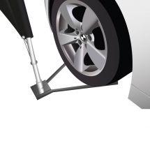 Fixation de Beachflag à lester sous une roue «Standard»