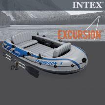 INTEX Schlauchboot Set «Excursion» 4 Personen 315x165x43 cm
