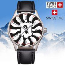 Swisstime «Kantonsuhr» Basel-Stadt