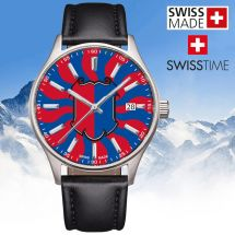 Swisstime «Kantonsuhr» Tessin