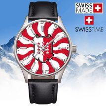 Swisstime «Kantonsuhr» Wallis