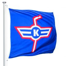 Sportfahne EHC Kloten official Superflag® 150x150 cm