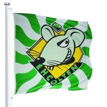 Sportfahne EHC Olten official Superflag® 150x150 cm