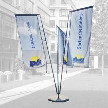 Fahnenburg 3-teilig für Auslegerfahne
