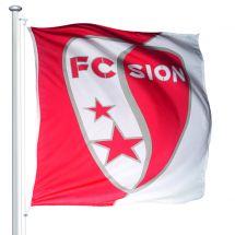 Sportfahne FC Sion official Superflag® 150x150 cm