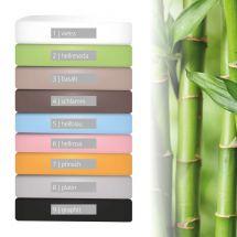 Fixleintuch Feinjersey «Bamboo» 90-100x200 cm 06-hellrosa