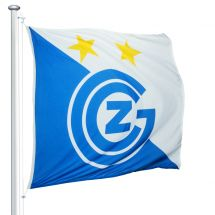 Sportfahne Grasshopper Club Zürich official Superflag® 150x150 cm