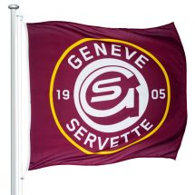 Drapeau officiel Servette Genf Superflag® 150x150 cm