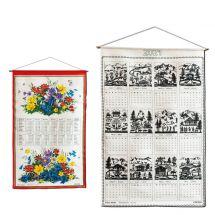 Kreier-Kalender aus Leinen «2021»