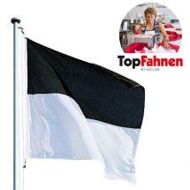 Kantonsfahne Freiburg «Handmade»