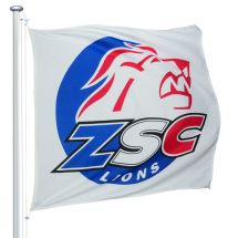 Sportfahne ZSC Lions official Superflag® 150x150 cm