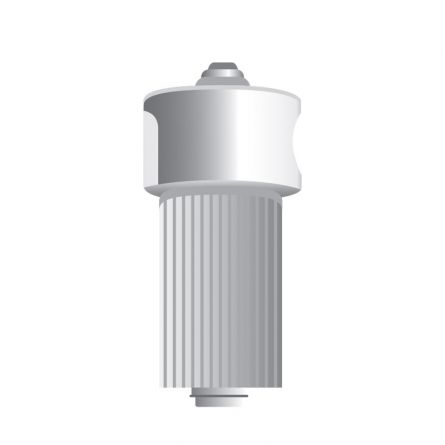 Tête rotative pour potence 80-150 cm, Ø 45,5 mm,  aluminium