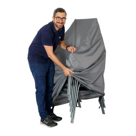 Bâche pour chaises de jardin empilables, 75x75x100cm
