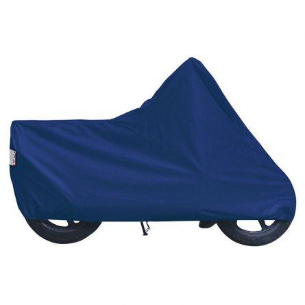 Motorradabdeckungen, blau