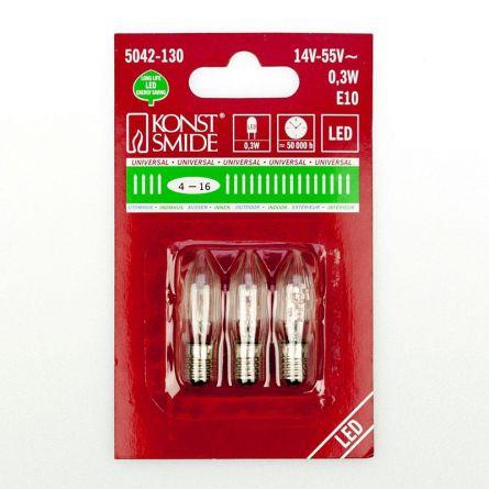 Ersatzlämpchen 3er Pack zu LED Weihnachtsbaumbeleuchtung