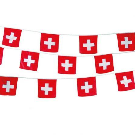 Fahnenkette Schweiz