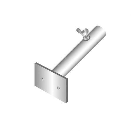 Fahnenstangenhalter 1-Armig, 55° ø 30 mm