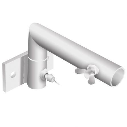 Fahnenstangenhalter 1-Armig,  schwenkbar 90 Grad ø 30 mm