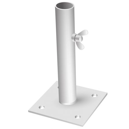Fahnenstangenhalter 1-Armig, 90° ø 30 mm