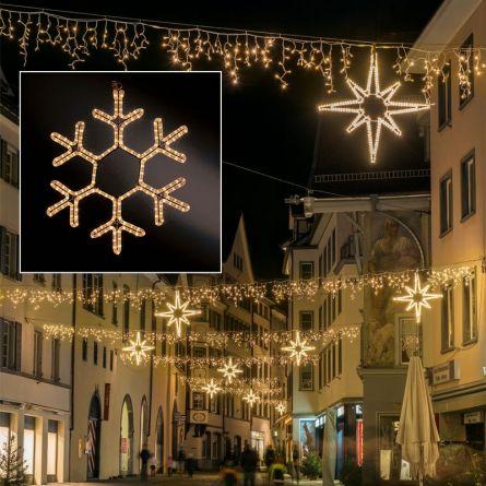 LED Schneeflocke «PROFI»