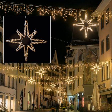 Étoile LED Suisse «PROFI»