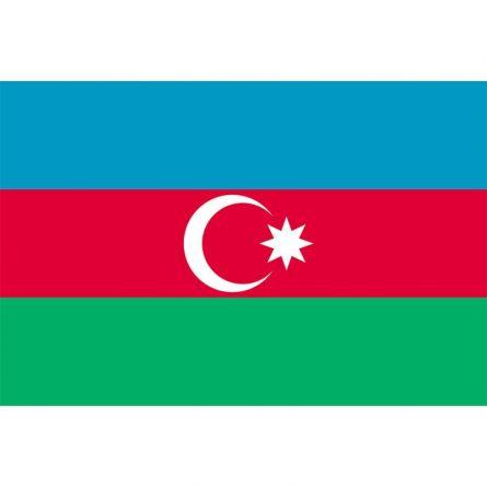 Länderfahne Aserbaidschan
