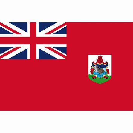 Fahne Gebiet Bermuda Vereinigtes Königreich