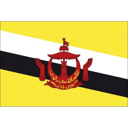 Länderfahne Brunei Darussalam