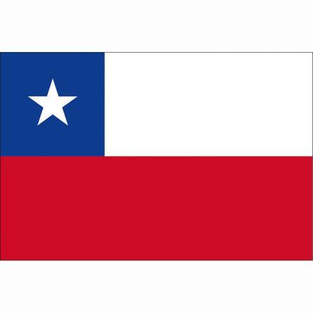 Länderfahne Chile