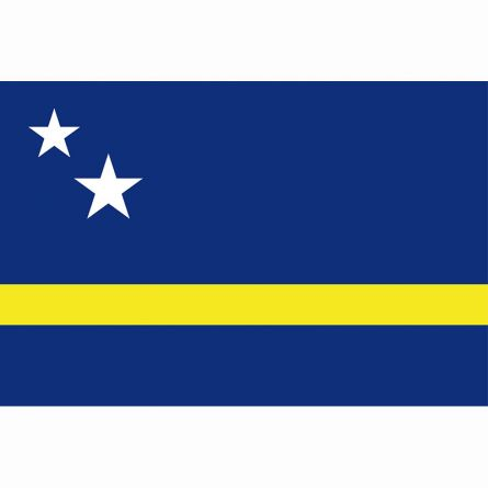 Fahne Gebiet Curaçao Niederlande