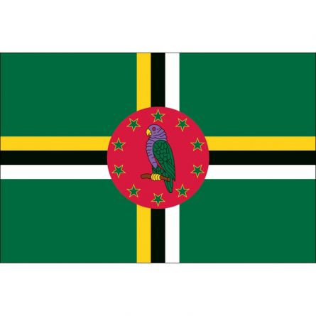 Länderfahne Dominica