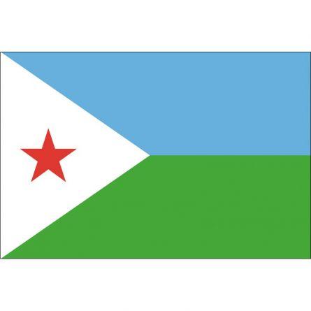 Drapeau national Djibouti