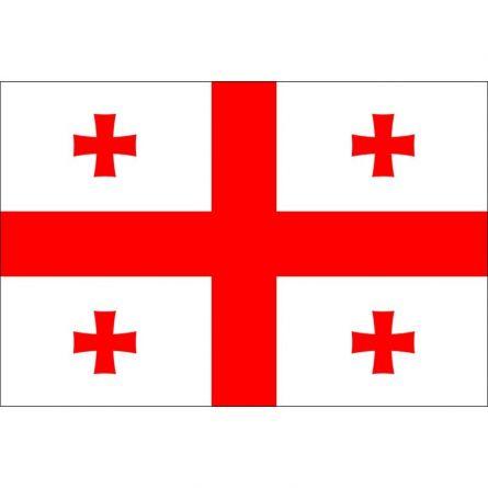 Länderfahne Georgien