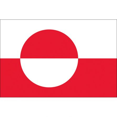 Länderfahne Grönland