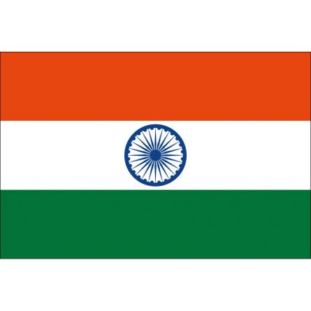 Länderfahne Indien