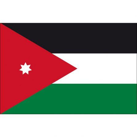 Länderfahne Jordanien