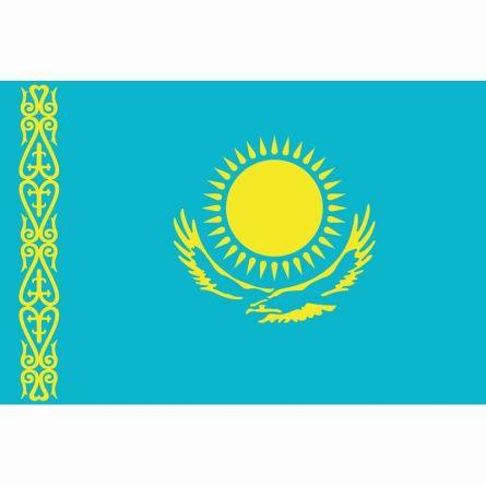 Länderfahne Kasachstan