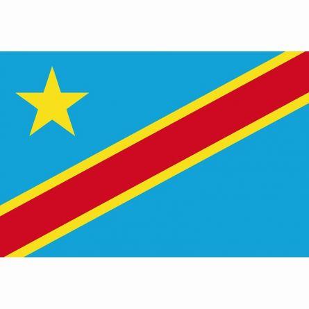 Drapeau national République démocratique du Congo