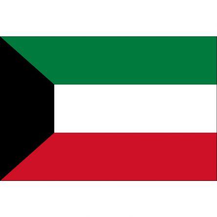 Länderfahne Kuwait