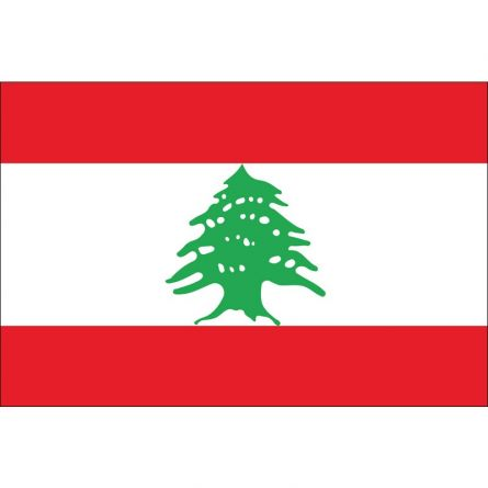 Länderfahne Libanon