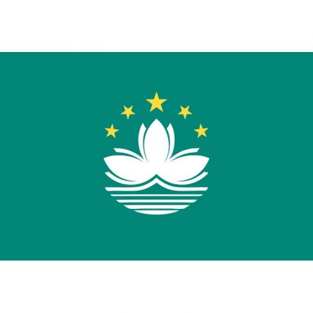 Fahne Gebiet Macau China