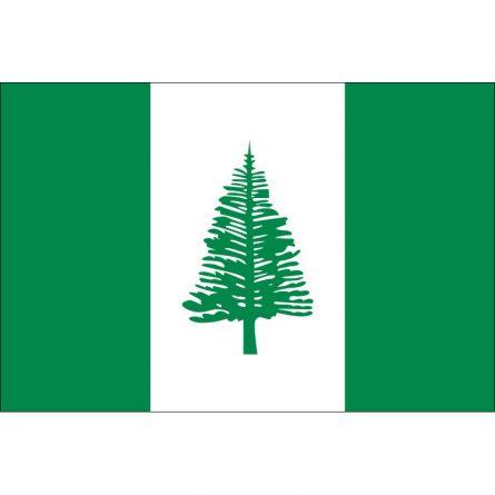 Fahne Gebiet Norfolkinsel Australien