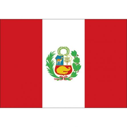 Länderfahne Peru